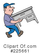 Royalty-Free (RF) Movers Clipart Illustration #225661