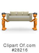 Royalty-Free (RF) Movers Clipart Illustration #28216