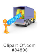Royalty-Free (RF) movers Clipart Illustration #84898