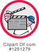 Movie Director Clipart #1251279 by patrimonio