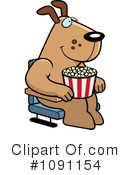 Movies Clipart #1091154 by Cory Thoman