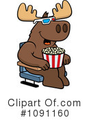 Royalty-Free (RF) Movies Clipart Illustration #1091160