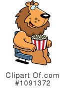 Royalty-Free (RF) Movies Clipart Illustration #1091372