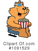 Royalty-Free (RF) Movies Clipart Illustration #1091529