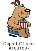 Royalty-Free (RF) Movies Clipart Illustration #1091637