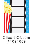Royalty-Free (RF) Movies Clipart Illustration #1091669