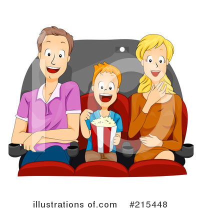 Movies Clipart #215448 by BNP Design Studio