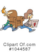 Royalty-Free (RF) Moving Clipart Illustration #1044587