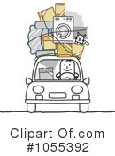 Royalty-Free (RF) moving Clipart Illustration #1055392
