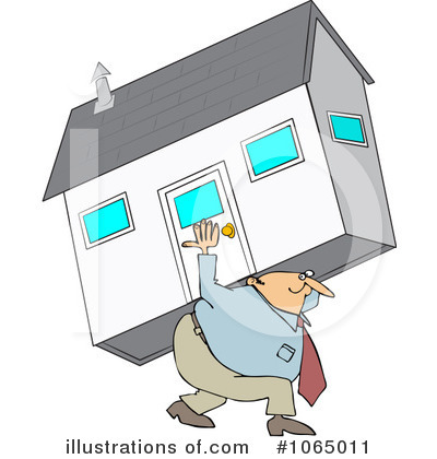 Real Estate Clipart #1065011 by djart
