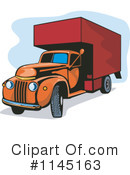 Moving Van Clipart #1145163 by patrimonio
