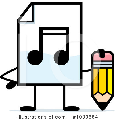 Mp3 Clipart #1099664 by Cory Thoman