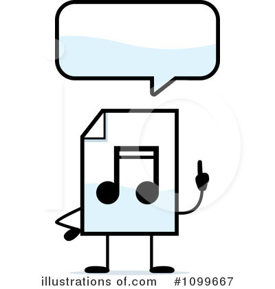 Mp3 Clipart #1099667 by Cory Thoman