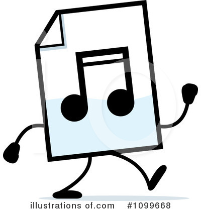 Mp3 Clipart #1099668 by Cory Thoman