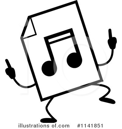 Mp3 Clipart #1141851 by Cory Thoman