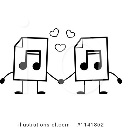 Mp3 Clipart #1141852 by Cory Thoman
