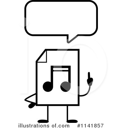 Mp3 Clipart #1141857 by Cory Thoman