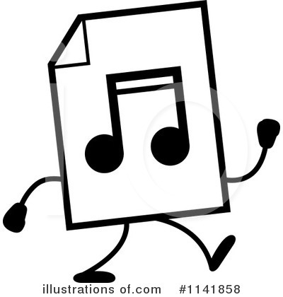 Mp3 Clipart #1141858 by Cory Thoman