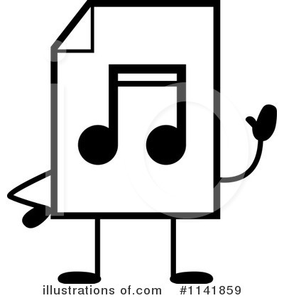 Mp3 Clipart #1141859 by Cory Thoman