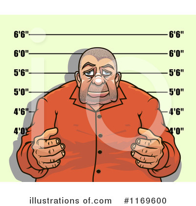 Royalty-Free (RF) Mugshot Clipart Illustration by Vector Tradition SM - Stock Sample #1169600