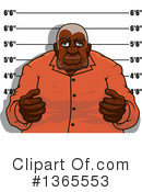 Royalty-Free (RF) Mugshot Clipart Illustration #1365553