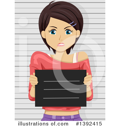 Mugshot Clipart #1392415 by BNP Design Studio