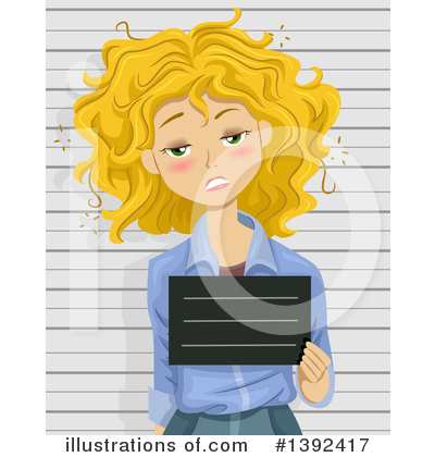 Mugshot Clipart #1392417 by BNP Design Studio