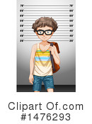 Royalty-Free (RF) Mugshot Clipart Illustration #1476293