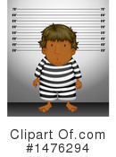 Royalty-Free (RF) Mugshot Clipart Illustration #1476294