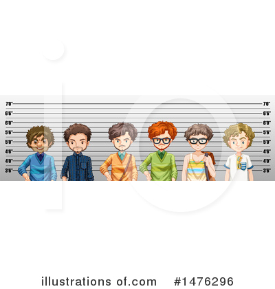 Mugshot Clipart #1476296 by Graphics RF