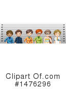 Royalty-Free (RF) Mugshot Clipart Illustration #1476296