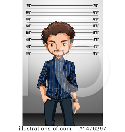 Royalty-Free (RF) Mugshot Clipart Illustration by Graphics RF - Stock Sample #1476297