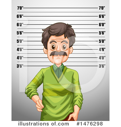 Mugshot Clipart #1476298 by Graphics RF