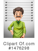 Royalty-Free (RF) Mugshot Clipart Illustration #1476298