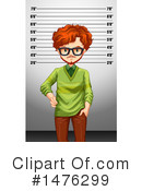 Royalty-Free (RF) Mugshot Clipart Illustration #1476299