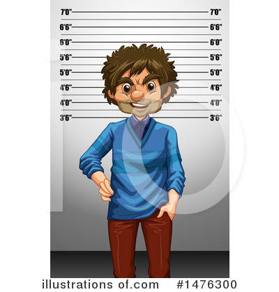 Mugshot Clipart #1476300 by Graphics RF