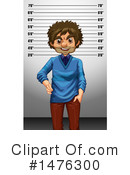Royalty-Free (RF) Mugshot Clipart Illustration #1476300