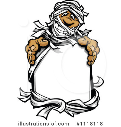 Mummy Clipart #1118118 by Chromaco