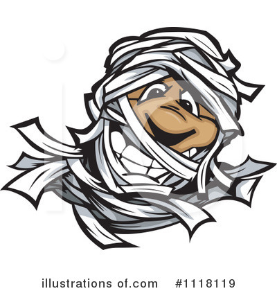 Mummy Clipart #1118119 by Chromaco