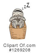 Royalty-Free (RF) Mummy Clipart Illustration #1269208