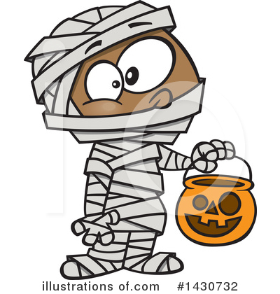 Mummy Clipart #1430732 by toonaday