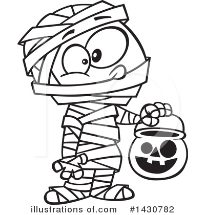 Mummy Clipart #1430782 by toonaday
