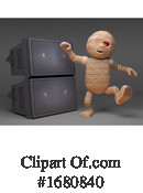 Mummy Clipart #1680840 by Steve Young