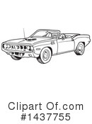Muscle Car Clipart #1437755