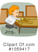 Royalty-Free (RF) Museum Clipart Illustration #1059417