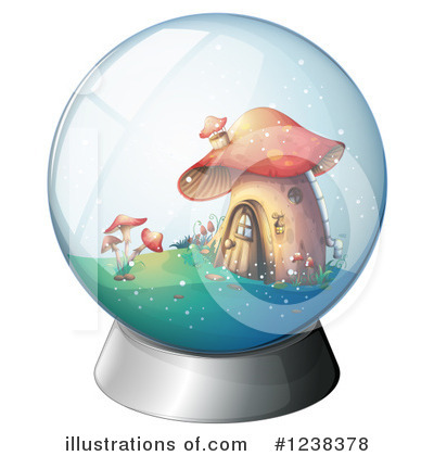 Snow Globe Clipart #1238378 by Graphics RF