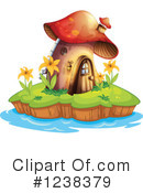 Royalty-Free (RF) Mushroom Clipart Illustration #1238379
