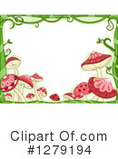 Mushrooms Clipart #1279194 by BNP Design Studio