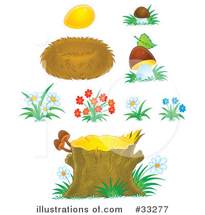 Wildflowers Clipart #33277 by Alex Bannykh