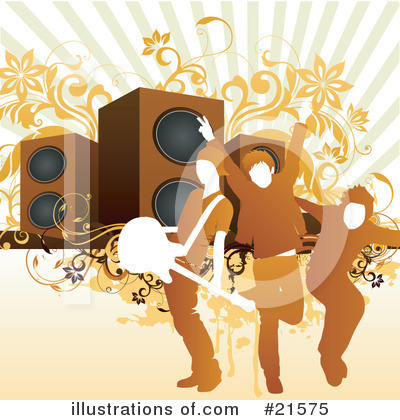 Royalty-Free (RF) Music Band Clipart Illustration by OnFocusMedia - Stock Sample #21575